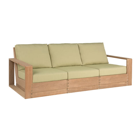 Poolside Elevated Three-Seat Sofa