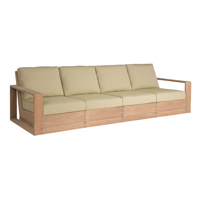 Poolside Elevated Four-Seat Sofa