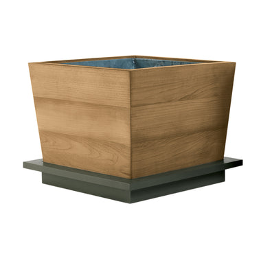 "Peninsula 24"" Tapered Planter"
