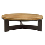 Peninsula Round Crossbar Coffee Table
