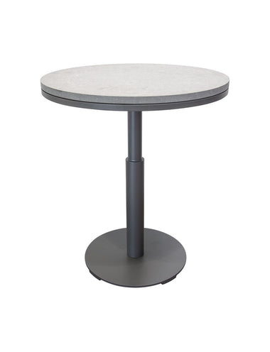 "Peninsula 36"" Round Bar Table with Belgian Bluestone"