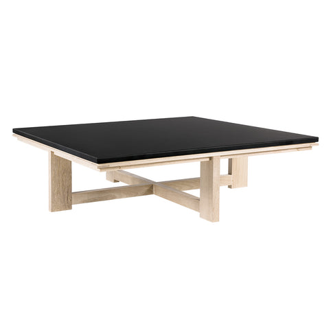 Peninsula Square Coffee Table with Datcha Stone Top
