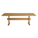 Hameau Rectangular Trestle Dining Table