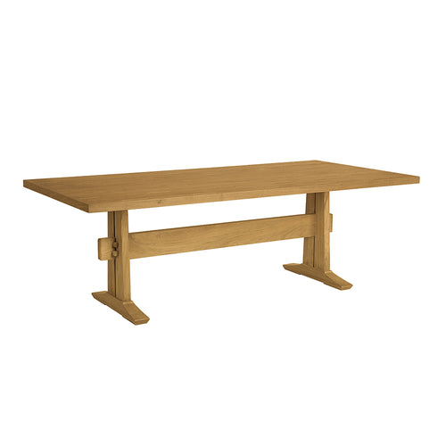 "Hameau 88"" Rectangular Trestle Dining Table"