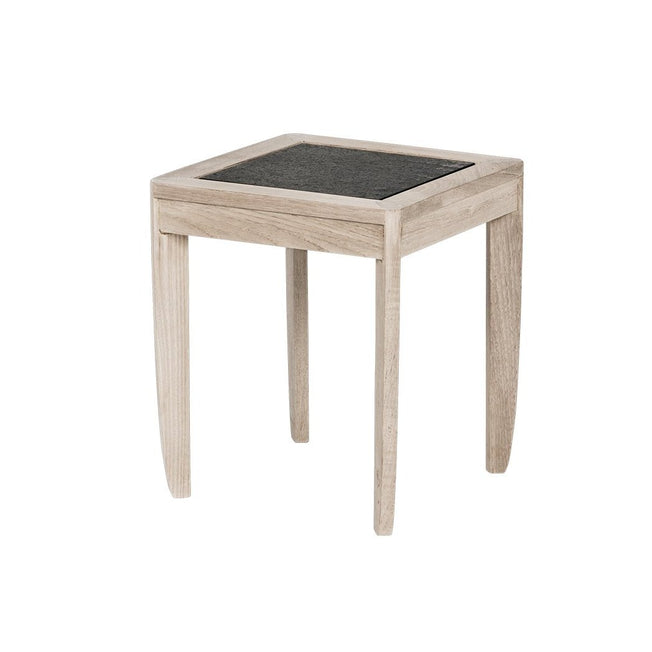 Lakeshore Square Occasional Table with Datcha Stone Top