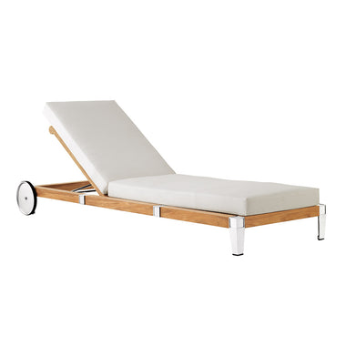Robinwood Armless Chaise with wheels