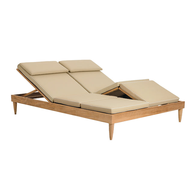 Classic Double Armless Chaise