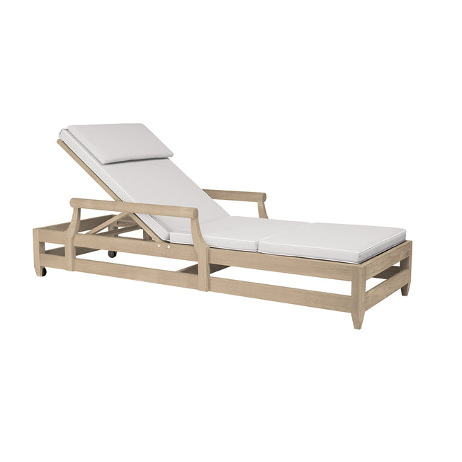 Classic Double Railed Chaise