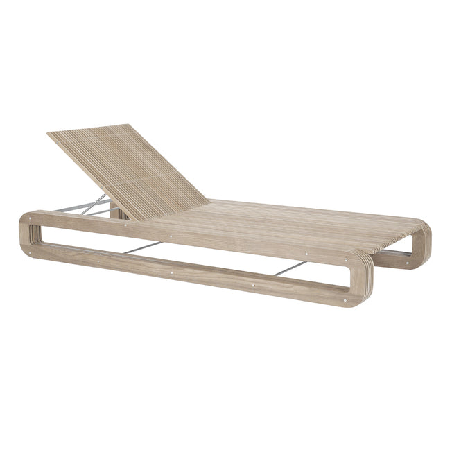 Continuous Line Armless Chaise - Weathered Finish - Quick Ship