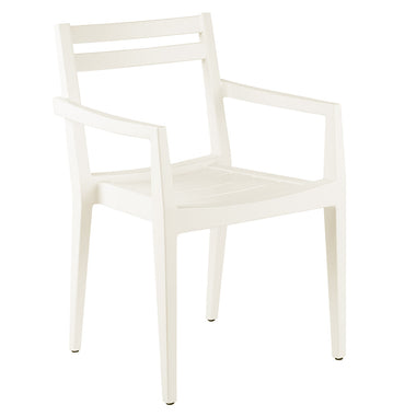 Zephyr Stackable Dining Arm Chair