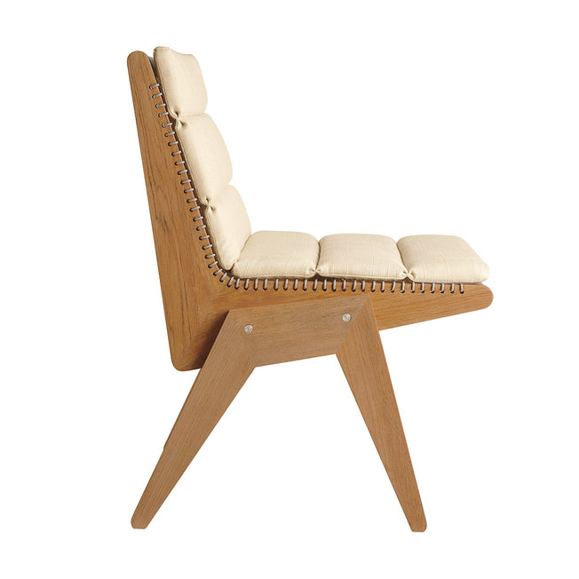 Cat's Cradle Dining Side Chair - Flannel