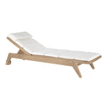 Cat's Cradle Armless Chaise - Flannel