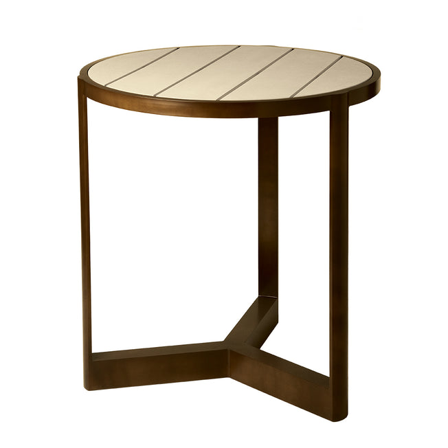 "Great Lakes Ecoplex 40"" Round Bar Table"