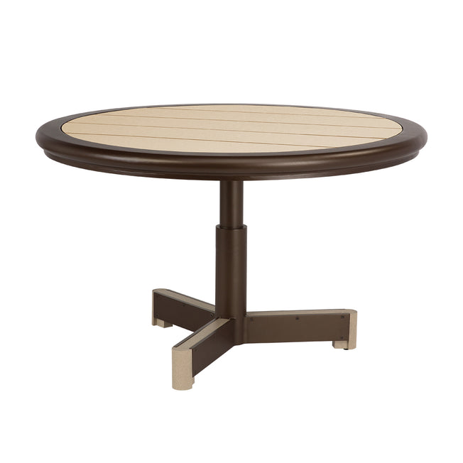 "Great Lakes Ecoplex 48"" Round Dining Table"