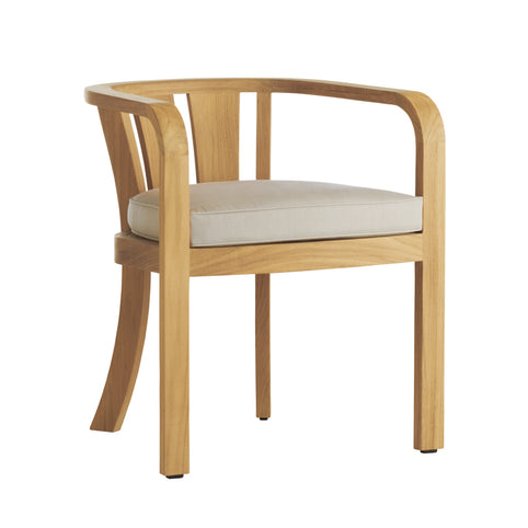 Boardwalk Low Back Dining Arm Chair