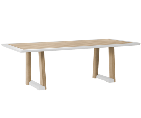 Mita Rectangular Dining Table - Quick Ship