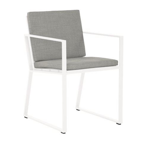 Samos Dining Arm Chair - Quick Ship