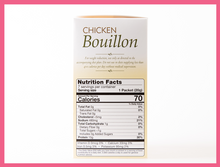 Load image into Gallery viewer, Chicken Bouillon Broth - Box of 7 meals - 1 CARB per serving!