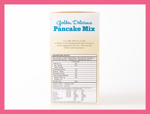 Pancake Mix - Golden Delicious - Box of 7 meals -5 Net Carbs per serving!