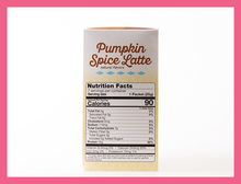 Load image into Gallery viewer, Pumpkin Spice Latte - Box of 7 meals - 7 Net Carbs per serving!