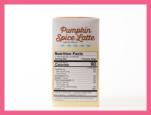 Pumpkin Spice Latte - Box of 7 meals - 7 Net Carbs per serving!