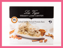 Load image into Gallery viewer, Salted Toffee Pretzel Bar - Box of 7 meals - 10 Net Carbs per serving!
