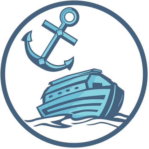 Ark and Anchor Symbol