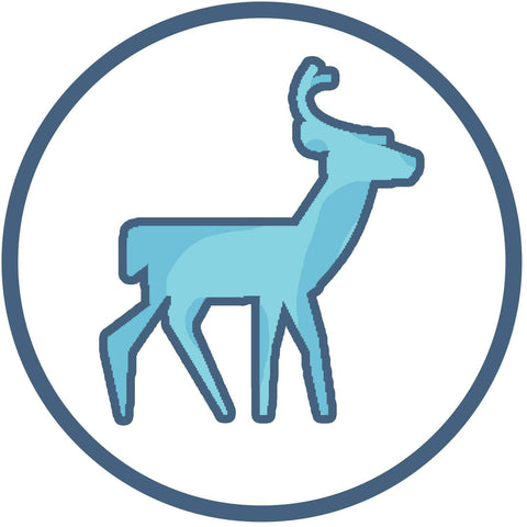 Native American Deer Symbol