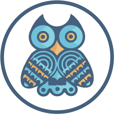 Native American Owl Symbol