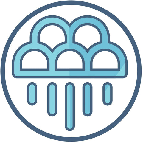 Native American Rain Clouds Symbol