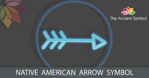 native american arrow symbol, traditional american tribal art symbol meanings explained