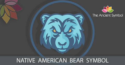 native american bear symbol, traditional american tribal art symbol meanings explained