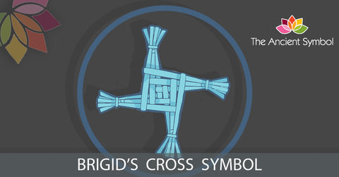 Brigid's cross celtic druid symbol