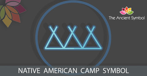 native american camp symbol, traditional american tribal art symbol meanings explained
