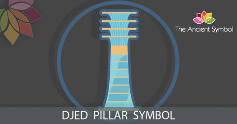 Djed pillar, ancient egyptian symbol