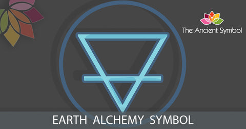 earth alchemy symbol, spiritual magic witchcraft wicca