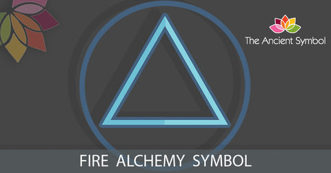 fire alchemy element symbol, wicca witchcraft magic