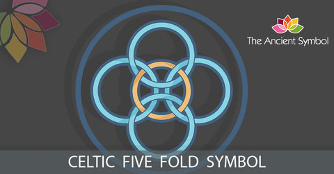 five fold symbol celtic druid symbol