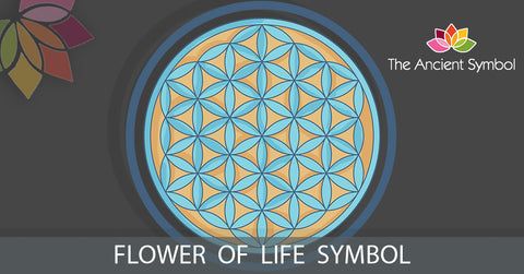 flower of life christian, spiritual ancient geometric symbol
