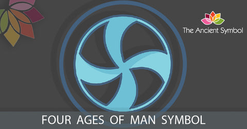 four ages of man native american symbol, traditional american tribal art symbol meanings explained
