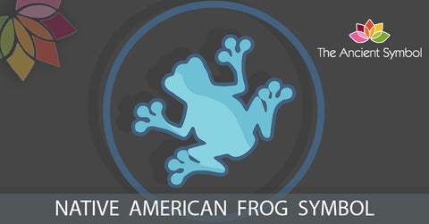 native american frog symbol, traditional american tribal art symbol meanings explained