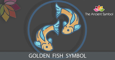 Golden Fish, buddhist ancient auspicious spiritual symbol