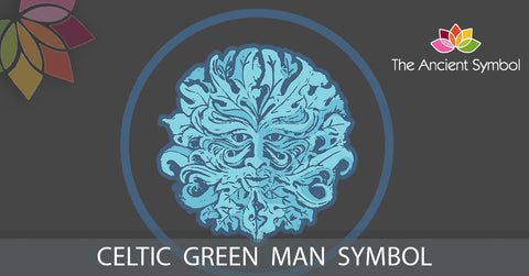 green man celtic druid symbol