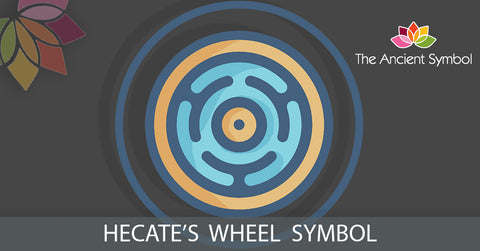 hecates wheel ancient greek mythical wicca witchcraft symbol