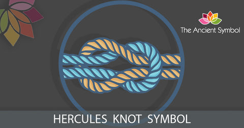hercules knot, love knot greek symbol