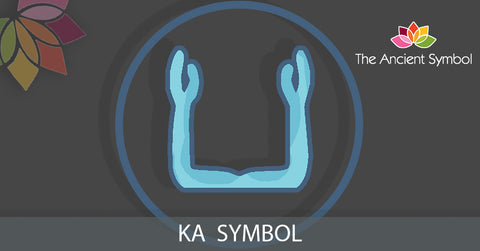 ka egyptian spirit ancient symbol