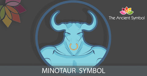 Minotaur greek legend myth symbol