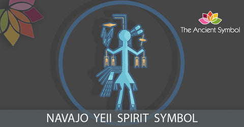 navajo yeii spirit native american symbol, traditional american tribal art symbol meanings explained