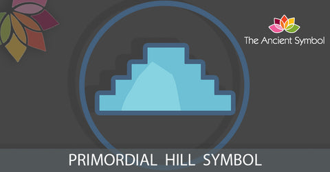 Primordial Hill ancient egyptian pyramid symbol