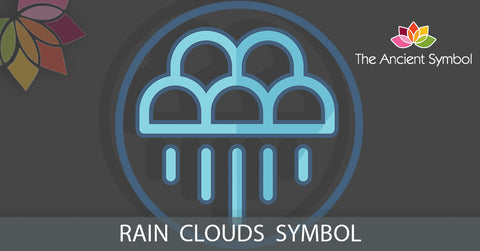 native american rain clouds symbol, traditional american tribal art symbol meanings explained